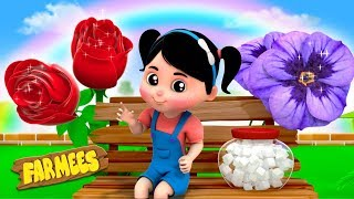 Roses Are Red Violets Are Blue | Nursery Rhymes For Children by Farmees