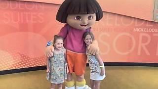 2012 05 Florida Nickelodeon Girls meet Dora