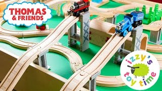 Thomas and Friends Wooden Play Table | Thomas Train and the Garbage Chute | Toy Trains for Kids
