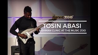 Tosin Abasi Fishman Clinic At The Music Zoo