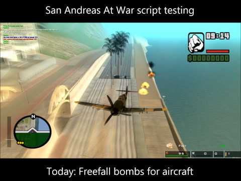 [MTA 1.4] SAAW script testing: freefall bombs with GTA physics