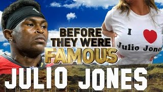 JULIO JONES - Before They Were Famous - Atlanta Falcons