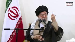 Iran Ayatollah Khamenei, government, Rouhani, Zarif یران آیت الله خامنه ای دیدار با مقامات دولتی