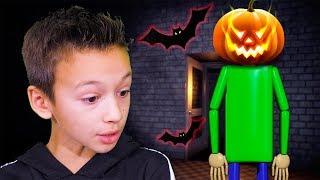 БАЛДИ Хеллоуин в Реальной Жизни   BALDI