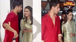 Alia - Sidharth Put All Break-up Rumors To Rest At Ekta