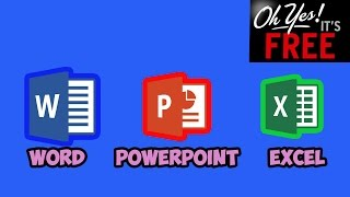 How to Get Word, Excel, PowerPoint 2016 for free (NO hacks, downloads, or surveys,)