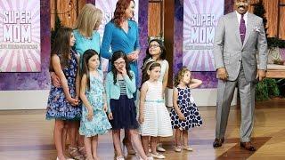 A single mom of SIX daughters! || STEVE HARVEY