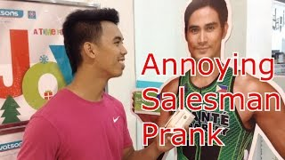 Cong TV - Annoying Salesman - Pinoy Pranks