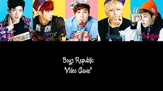 Boys Republic-  Video Game (Color Coded Han/Rom/Eng)