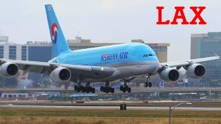 EPIC Los Angeles LAX Planespotting Compilation - incl. A380, 747, 787, A330, 767, 757 [Full HD]