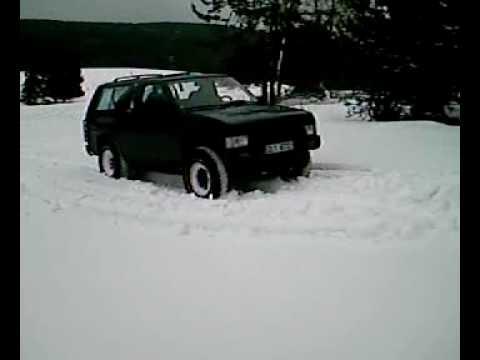 Daihatsu Feroza Nisan Teráno polívka2 .