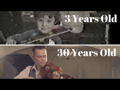 Violin progress video 27 years
