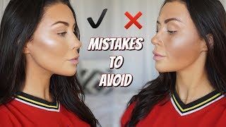 CONTOUR DO'S AND DONT'S   How to contour - what is contouring ! ?