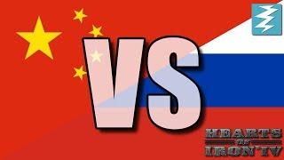 China Vs Russia Ep8 - Hearts of Iron 4 (HOI4)