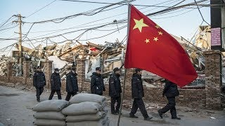Beijing Like a War Zone After Forced Evictions   China Uncensored