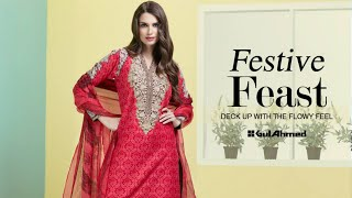 Gul Ahmed Eid Picks 2016 Awesome Collection