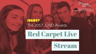 The 2017 JUNO Awards Red Carpet Live Stream