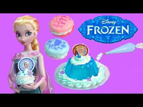 Xxx Mp4 Queen Elsa Disney Frozen Whipple Jello Ice Cream 2 Macarons Princess Anna Birthday Craft Unboxing 3gp Sex