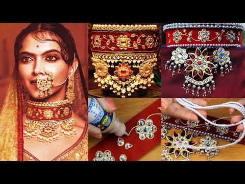 Xxx Mp4 How To Make Padmavati Jewelry At Home I DIY Chocker I SmithaDBeauty 3gp Sex