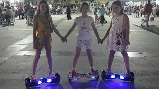 Gece 12.00 Canlı Yayında Hoverboard Challenge