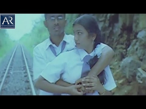 10th lo Premalo Padithe Movie Scenes | Boy Kissing School Girl on Railway Track | AR Entertainments