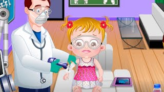 Baby Hazel Hand Fracture - Baby Hazel Games To Play - yourchannelkids