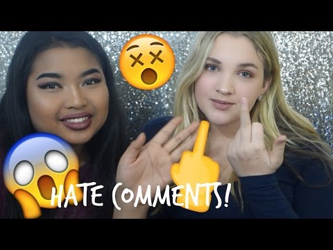 Reading Your Mean Hate Comments... | Emily Tressa |