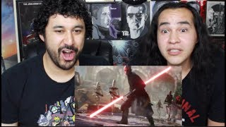Star Wars Battlefront 2: Official Gameplay Trailer REACTION & REVIEW!