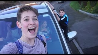 OUR FIRST VLOG!!! (We nearly got kicked out of Tesco)! || Max & Harvey Official
