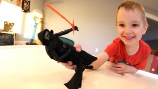 Father & Son GET DELUXE ACTION FIGURE / Kylo Ren! (Pancake Attack)