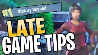 5 QUICK TIPS TO NEVER LOSE IN THE LATE GAME (Fortnite Battle Royale)