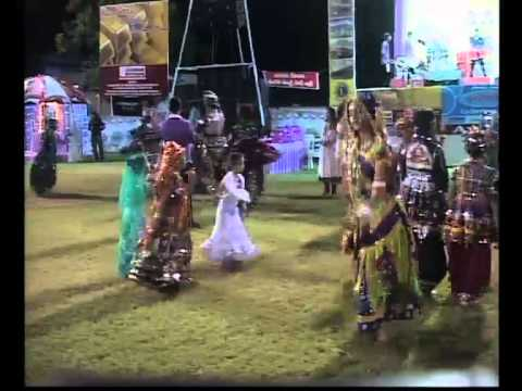 Navratri 2013 Live Garba Kalol Day 3 Rita Dave Musical Group