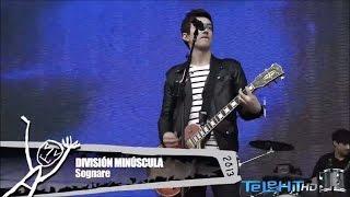 División Minúscula - Sognare (En vivo Telehit HD)