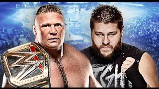 Brock Lesnar vs Kevin Owens Wrestlemania 32 Promo HD