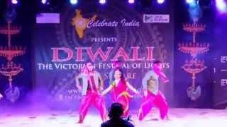 Natya Bollywood: Diwali at Federation Square 2014