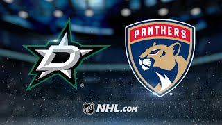 Luongo, Panthers take down Stars in 4-3 SO victory