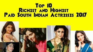 Top 5 richest and highest paid actress in Tamil cinema | nayanthara| kajal agraval | anushka shetty