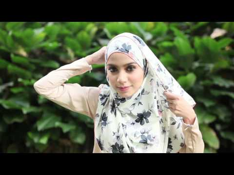 Xxx Mp4 Benang Hijau Hijab Tutorial Nadeera Printed 4th Style 3gp Sex