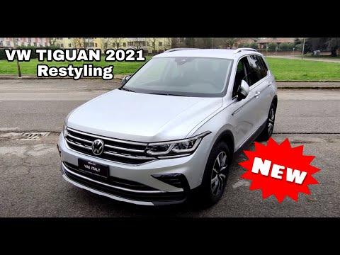 VW Tiguan Elegance 2021 2.0 TDI 150cv Attivazioni varie