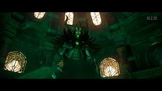 Warcraft (2016) -  Medivh (possesed) vs Lothar & Kadgar [4K]