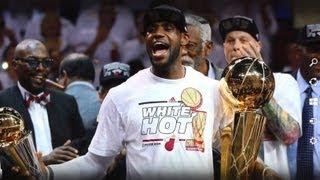 June 21, 2013 - ESPN - LeBron Gets His Revenge on the Spurs/Duncan for his 2007 Finals Loss