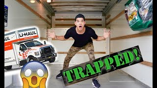 Trapped In A Moving Truck! *I