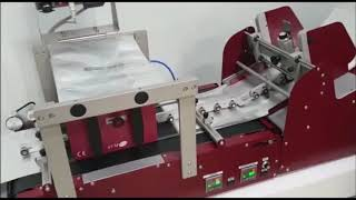 Savema Feeder-Conveyor Belt with SVM 107 Intermittent with Doypack Packages in Spain Market