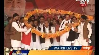 Mulayam Singh to do rally in Gazipur today