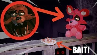 CAPTURING FOXY IN REAL LIFE! *Five Nights At Freddys*