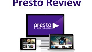 Presto Review - On Demand TV and Movie Streaming Service