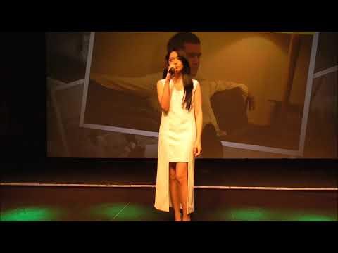 Angel Karamoy Nyanyikan Lagu Perpisahan