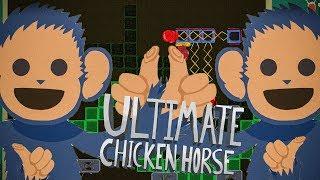 ŚMIESZNY WEZA.. ha ha ha.. HA | Ultimate Chicken Horse w/ Eleven, Weza