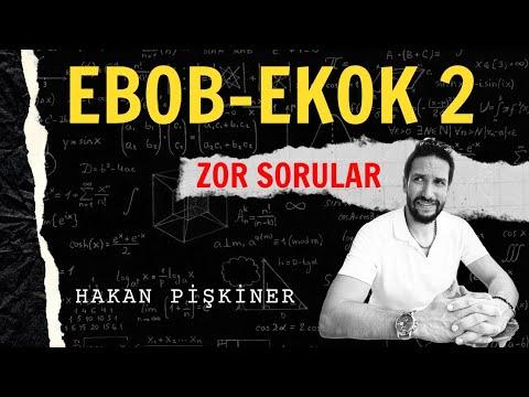 EBOB-EKOK Zor Sorular 2