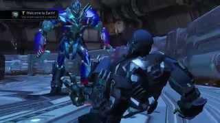 Transformers Rise of the Dark Spark Ending w/ SICK - Optimus Prime vs Lockdown